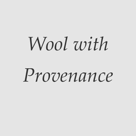 Wool with Provenance